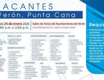 Ministerio de Trabajo invita a Jornada de Empleo en Verón Punta Cana