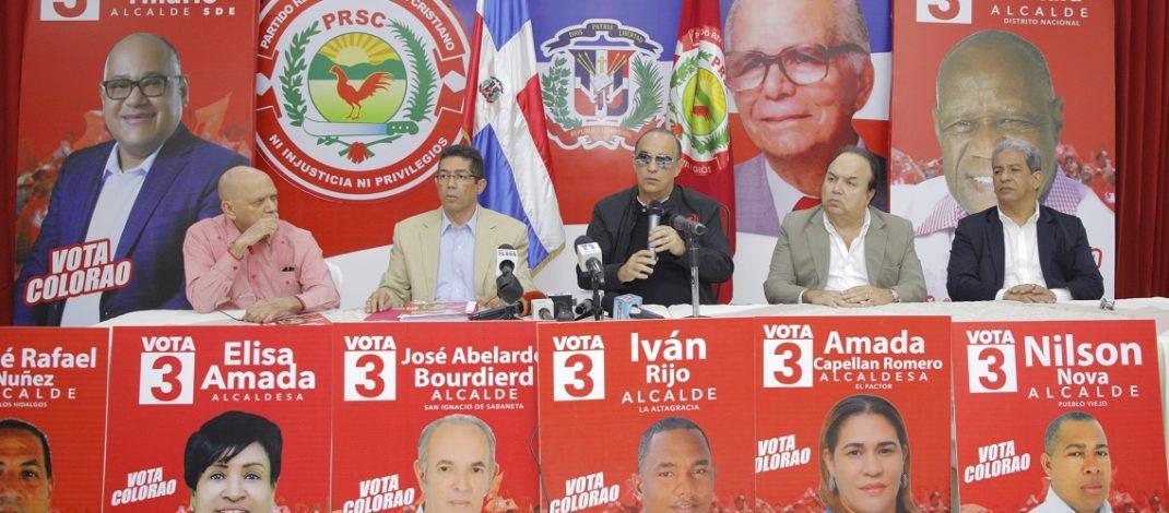 """Quique: """"Gobierno pretende despojar al PRSC  y Leonel Fernández de la casilla 3"""""""
