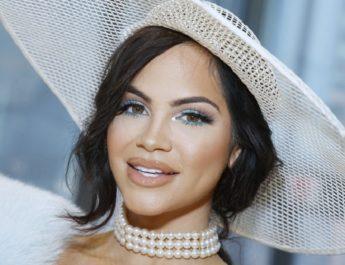 La dominicana Natti Natasha  apareció en el desfile de moda Carolina Herrera en Nueva York