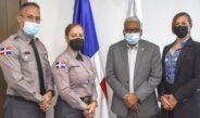 DIRECTOR DE PENSIONES RECIBE VISITA DE MIEMBROS DEL COMITÉ DE RETIRO DE LA POLICÍA NACIONAL